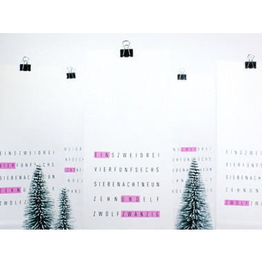 typealive / Adventskalender / Tag Me