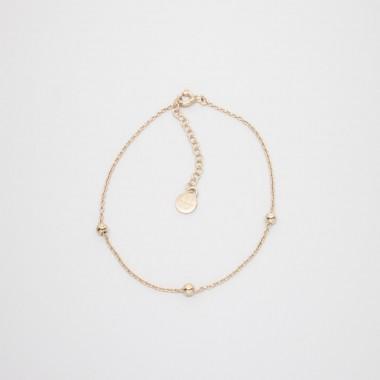 fejn jewelry - Triple Ball Bracelet