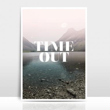 """A4 Artprint """"Time Out"""""""