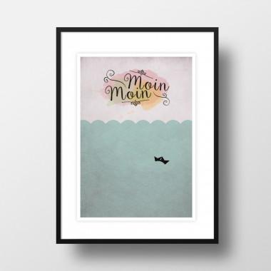 """A3 Artprint """"Moin Moin"""""""