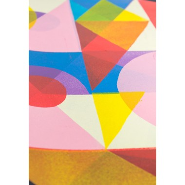 Stencilprint »Quader 1« 35x50cm