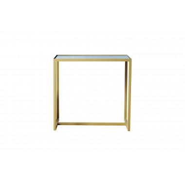 Beistelltisch ELAIS - in gold / betongrau
