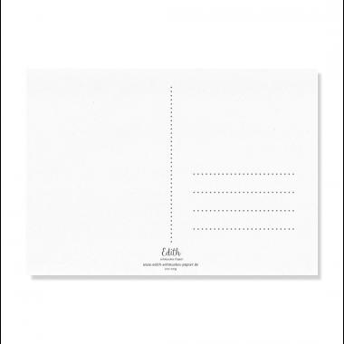"""Edith schmuckes Papier """"BABY"""" Postkarte"""
