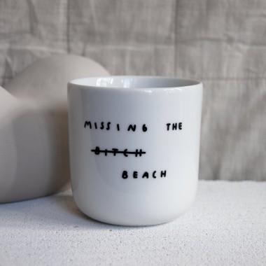 MISSING THE BEACH Becher – Johanna Schwarzer