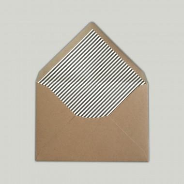 Feingeladen // LINE ART // Heart (FR) // RISO-Klappkarte, A6