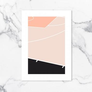 Chiara Tempel – Court #1 – Poster A3 (297x420mm)