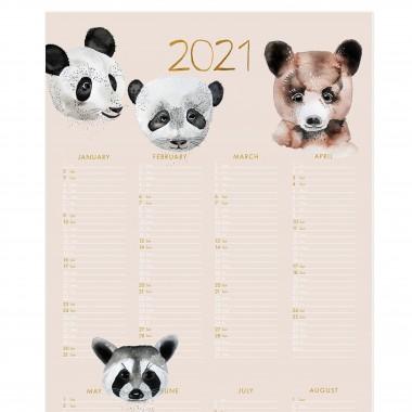 Bären - 2021 Posterkalender