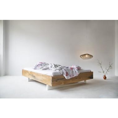 FraaiBerlin Altholz Eichen Bett Autun