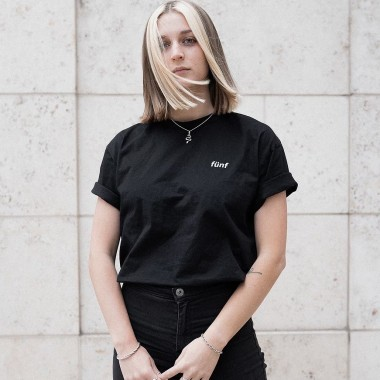 Fünf Mistik T-Shirt Black