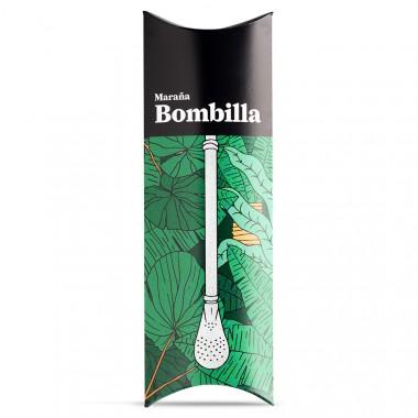 Maraña Bio Yerba Mate Tee Set ● 150g lose Blätter ● Bombilla Strohhalm ● Emaille Becher Tasse Kalebasse ● Prima Geschenk