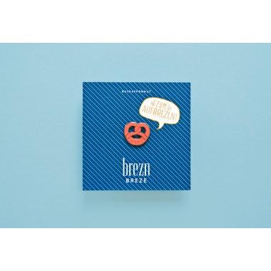 HEIMATFORMAT Brezn SuperPin // koralle