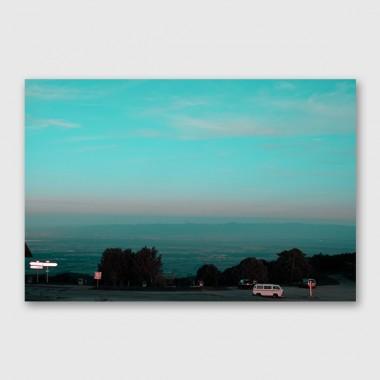 """ZEITLOOPS """"Bus"""", Posterprint, 90x60 cm"""