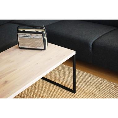 couchtisch velier schwarz matt eiche. Black Bedroom Furniture Sets. Home Design Ideas