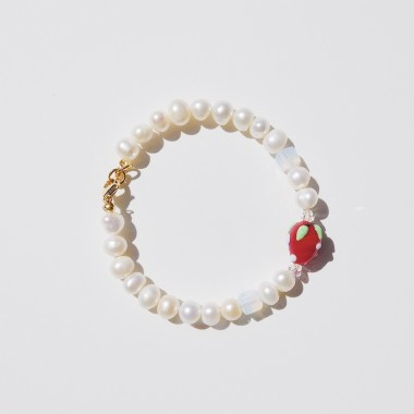 Valerie Chic - HAPPY STRAWBERRY Perlen Armband