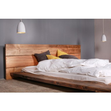 bauholz bett cudos dunkel. Black Bedroom Furniture Sets. Home Design Ideas