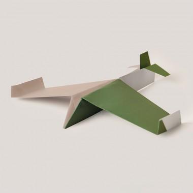 Origami Poster Papierflieger, mehrfarbig, von Christina Pauls