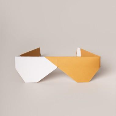 Origami Print Sunglasses von Christina Pauls