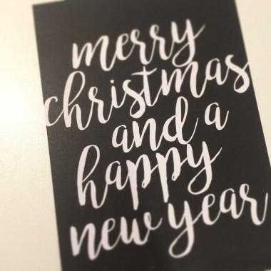 "Postkarten-Set ""Christmas"""