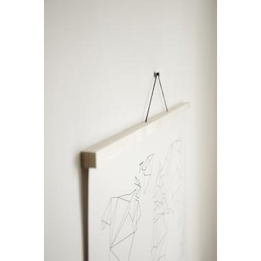 Artprint inkl. magnetischer Posterleiste A3, Click - On - Frame, Rahmen