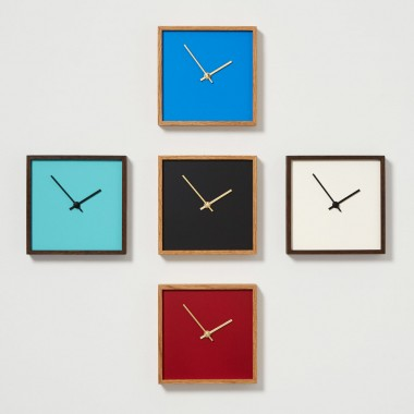 the square - schwarz | Constantin Lindner | Wanduhr Standuhr Uhr