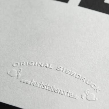 Buchstabenort Erfurt Stadtteile-Poster Typografie Siebdruck