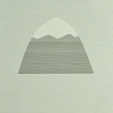 """Markrún Herdubreid """"Lonely Mountain Stripes"""" Druck (A3)"""