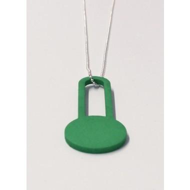 theobalt.design DOT necklace green