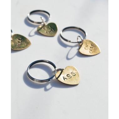 iloveblossom NAUGHTY BUT NICE Schlüsselanhänger // Heart