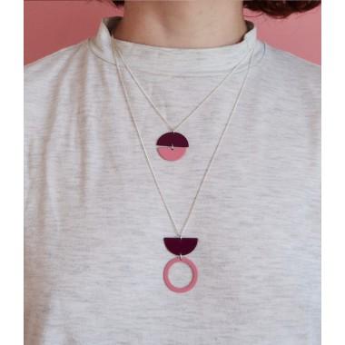 stahlpink – Nachhaltige Halskette: MONI