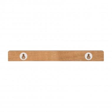 klotzaufklotz Schlüsselhalter Holz (Eiche)