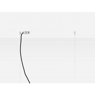 GANTlights [C2o]corten Pendelleuchte rostiger Stahl klein
