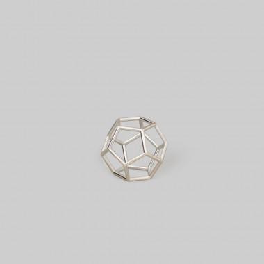 """Teresa Gruber Anhänger  platonic solids- """"Dodekaeder"""" 925 Silber"""