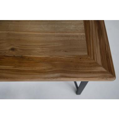 Esstisch aus Altholz Eiche & Eisen Jasmijn/Donoe 200 x 100 cm