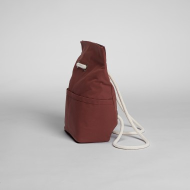 Dual Backpack Small Berry