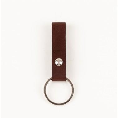 Schlüsselanhänger klein braun