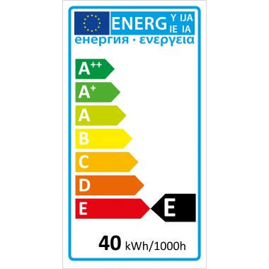 Edison-Rustika, Dekodraht, 40 Watt, E27