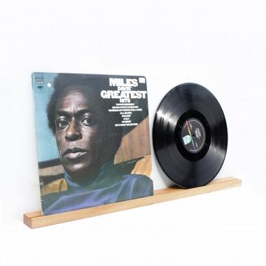 Doppelt Schallplattencover regal leiste aus Eiche / VLO design