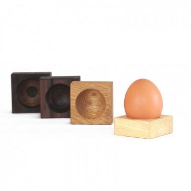 Eierbecher - aus recyceltem Holz