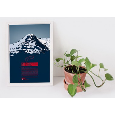 Eiger - Bergdruck