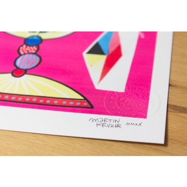 Martin Krusche - Fineartprint »Eisbecher Schirmchen« DIN A4