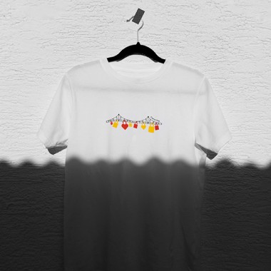 Eiserner Steg T-Shirt, Unisex, 100% Bio-Baumwolle