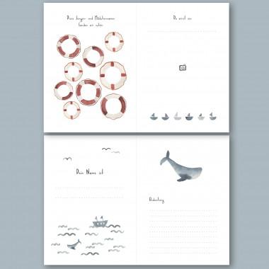 Schwangerschaftstagebuch - 9 Monate - Meer – Elliet