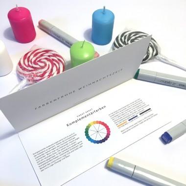 FORMLOS Berlin Adventskalender mit Komplementär-Farben – finde die richtige Farbe!