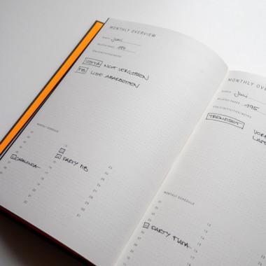 FOX&POET: Notizbuch / Planer /Organiser
