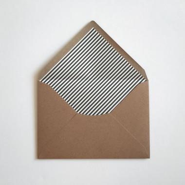 Feingeladen // LINE ART // Heart (FR) Klappkarte, A6