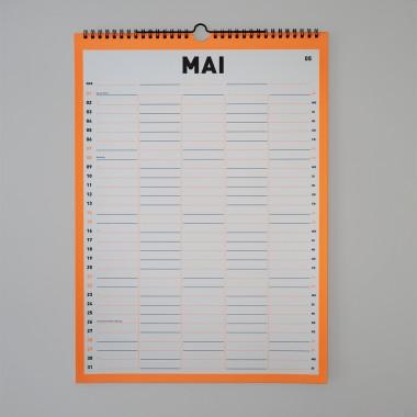FOX&POET Familienkalender/WG-Planer 2022