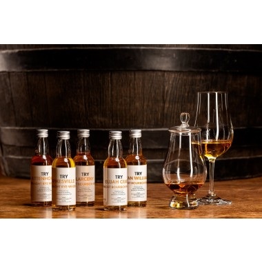 TRY U.S. Whiskey Tasting Set