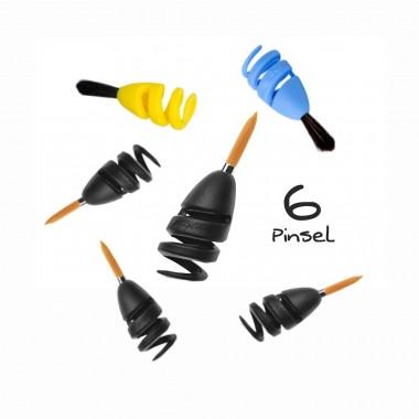 FINGERMAX - Artist Line Künstler Set (6 Stück Fingerpinsel Artist Line)
