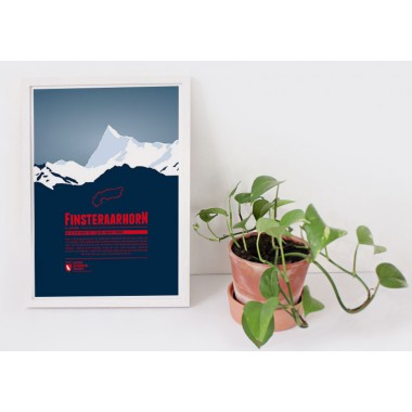 Finsteraarhorn - Bergdruck