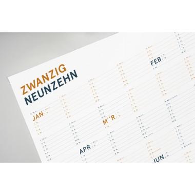 FÖRM Wandkalender 2019